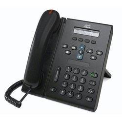 Cisco Unified IP Phone 6921 Charcoal Standard Handset (CP-6921-C-K9=) (черный) - IP телефонVoIP-оборудование<br>VoIP-телефон, 2 телефонные линии, монохромный дисплей, 4 программируемые клавиши, протоколы VoIP: SCCP, SIP. Интерфейсы: 2 x 10/100 Мбит/с. Поддержка PoE.