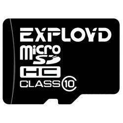 EXPLOYD microSDHC Class 10 16GB - Карта флэш-памяти