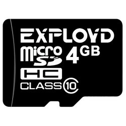 EXPLOYD microSDHC Class 10 4GB - Карта флэш-памяти