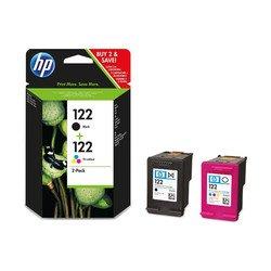 Комплект картриджей для HP Deskjet 1000, 1050А, 2000, 2050А, 2054А, 3000, 3050А, 3052А, 3054А (CH561HE + CH562HE) (черный+цветной)  - Картридж для принтера, МФУ