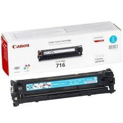 Тонер Canon 716 CYAN для  i-SENSYS LBP-5050, i-SENSYS MF8030C, i-SENSYS MF8050C (голубой) - Картридж для принтера, МФУКартриджи<br>Тонер Canon 716 CYAN голубого цвета, ресурс 1500 страниц.