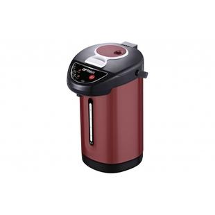 OPTIMA AP-433S - ЭлектрочайникЭлектрочайники и термопоты<br>Термопот OPTIMA AP-433S, 4.3л, 3 сп. налива воды, бордо, черный пластик, 900Вт.