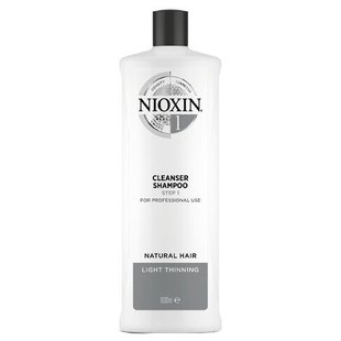 Nioxin шампунь System 1 Cleanser Step 1