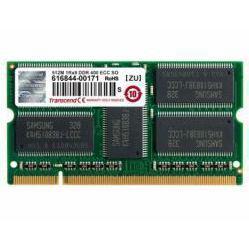 Transcend TS64MSD72V4J - Память для компьютераМодули памяти<br>1 модуль памяти DDR SODIMM, 512Мб, 400MHz, ECC Unbuffered, CL 2.5.