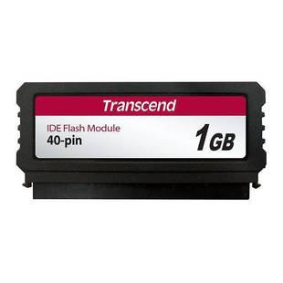 Transcend TS1GPTM520 - Внутренний жесткий диск HDDВнутренние жесткие диски<br>Вертикальный флэш-модуль, объем 1 Гб, интерфейс PATA 40 pin.
