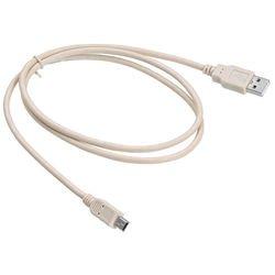Кабель USB-miniUSB 1м (Buro USB2.0-M5P-1) - КабелиUSB-, HDMI-кабели, переходники<br>Разъемы USB-miniUSB, тип USB 2.0, длина 1 м.