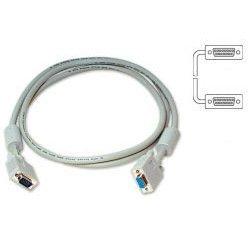 Кабель SVGA 15m для LCD мониторов 2 фильтра 5м (Buro VGA-15M/Mpro-5M) - Кабель, переходникКабели, шлейфы<br>Кабель предназначен для передачи цифровых данных.
