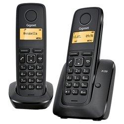 Gigaset A120 Duo (черный) - Радиотелефон