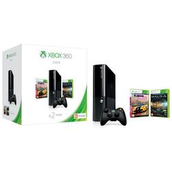 Игровая консоль Microsoft Xbox 360 250Gb Stingray + игры Halo и Forza (N2V-00121) (черный)