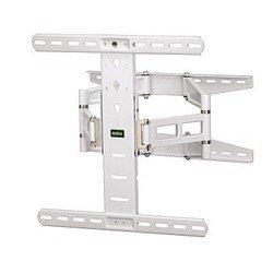 Кронштейн для ЖК-телевизора (Hama H-108758) (белый) - Подставка, кронштейнПодставки и кронштейны<br>Наклонно-поворотный кронштейн для LCD/LED телевизора и плазменных панелей с диагональю монитора до 50 дюймов.