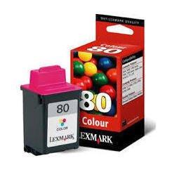 Картридж для Lexmark Color Jetprinter 5000, 5700, Z11, Z31 (12A1980E №80) (цветной) - Картридж для принтера, МФУ