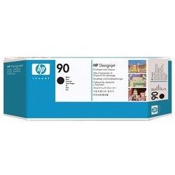 Печатающая головка + очиститель для HP Designjet 4000, 4000ps, 4500, 4500ps (C5054A №90) (черный)  - Картридж для принтера, МФУКартриджи<br>Совместима с моделями: HP Designjet 4000, HP Designjet 4000ps, HP Designjet 4500, HP Designjet 4500ps.