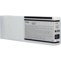 Картридж для Epson Stylus Pro 7700, 7890, 7900, 9700, 9890, 9900 (C13T636100 №T6361) (фото черный) (700 мл) - Картридж для принтера, МФУ
