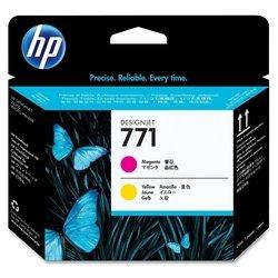 Печатающие головки для HP DesignJet Z6200 (CE018A №771) (пурпурный, желтый) - Картридж для принтера, МФУКартриджи<br>Совместимы с HP DesignJet Z6200.
