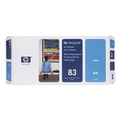 Печатающая головка с устройством очистки для HP Designjet 5500, 5500ps, 5000, 5000ps (C4961A №83) (голубой) - Картридж для принтера, МФУКартриджи<br>Совместима с моделями: HP Designjet 5500, 5500ps, 5000, 5000ps