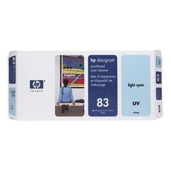 Печатающая головка с устройством очистки для HP Designjet 5500, 5500ps, 5000, 5000ps (C4964A №83) (светло-голубой) - Картридж для принтера, МФУКартриджи<br>Совместима с моделями: HP Designjet 5500, 5500ps, 5000, 5000ps