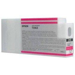 Картридж для Epson Stylus Pro 7700, 7890, 7900, 9700, 9890, 9900 (C13T596300 №T5963) (пурпурный) (350 мл) - Картридж для принтера, МФУ
