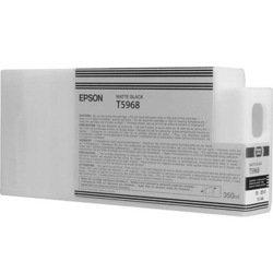Картридж для Epson Stylus Pro 7700, 7890, 7900, 9700, 9890, 9900 (C13T596800 №T5968) (матовый черный) (350 мл) - Картридж для принтера, МФУ