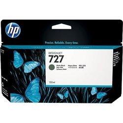 Картридж для HP Designjet T920, T1500, T2500 (B3P22A №727) (матовый черный) (130 мл) - Картридж для принтера, МФУКартриджи<br>Совместим с моделями: HP Designjet T920, T1500, T2500