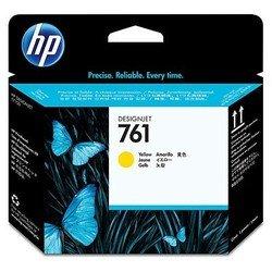 Печатающая головка для HP Designjet T7100, T7200 (CH645A №761) (желтый) - Картридж для принтера, МФУКартриджи<br>Совместима с моделями: HP Designjet T7100, HP Designjet T7200.