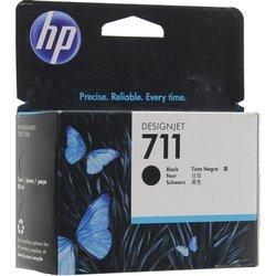Картридж для HP DesignJet T120, T520 (CZ133A №711) (черный) (80 мл) - Картридж для принтера, МФУ