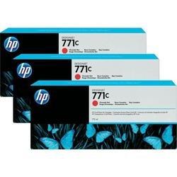 Картридж для HP Designjet Z6600, Z6800, Z6200 (B6Y32A №771C) (красный) (775 мл) (3 шт) - Картридж для принтера, МФУКартриджи<br>Совместим с моделями: HP Designjet Z6600, Z6800, Z6200