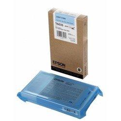 Картридж для Epson Stylus Pro 7800, 9800, 7880, 9880 (C13T603500 №T6035) (светло-голубой) (220 мл) - Картридж для принтера, МФУКартриджи<br>Совместим с моделями: Epson Stylus Pro 7800, 9800, 7880, 9880.