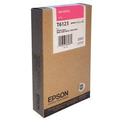 Картридж для Epson Stylus Pro 7400, 9400, 7450, 9450 (C13T612300 №T6123) (пурпурный) (220 мл) - Картридж для принтера, МФУКартриджи<br>Совместим с моделями: Epson Stylus Pro 7400, 7450, 9400, 9450.