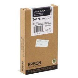 Картридж для Epson Stylus Pro 7400, 7450, 7800, 7880, 9400, 9450, 9800, 9880 (C13T612800 T6128) (матовый черный) (220 мл) - Картридж для принтера, МФУКартриджи<br>Совместим с моделями: Epson Stylus Pro 7400, 7450, 7800, 7880, 9400, 9450, 9800, 9880.