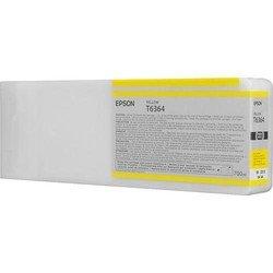 Картридж для Epson Stylus Pro 7890, 7900, 9890, 9900, 9700, 7700 (C13T636400 №T6364) (желтый) (700 мл) - Картридж для принтера, МФУ