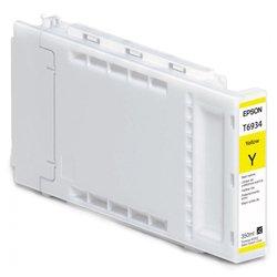 Картридж для Epson SureColor SC-T3000, SC-T5000, SC-T7000 (C13T693400 №T6934) (желтый) (350 мл) - Картридж для принтера, МФУ