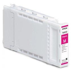 Картридж для Epson SureColor SC-T3000, SC-T5000, SC-T7000 (C13T693300 №T6933) (пурпурный) (350 мл) - Картридж для принтера, МФУ