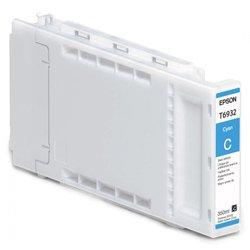 Картридж для Epson SureColor SC-T3000, SC-T5000, SC-T7000 (C13T693200 №T6932) (голубой) (350 мл) - Картридж для принтера, МФУКартриджи<br>Совместим с моделями: Epson SureColor SC-T3000, Epson SureColor SC-T5000, Epson SureColor SC-T7000.