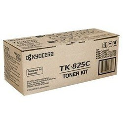 Тонер-картридж для Kyocera KM-C3225E, KM-C3225, KM-C4035E, KM-C3232E, KM-C3232, KM-C2525E, KM-C2520 (TK-825C 1T02FZCEU0) (голубой) - Картридж для принтера, МФУ