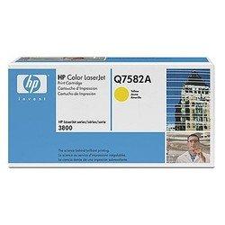 Тонер-картридж для HP Color LaserJet 3800, 3800n, 3800dn, 3800dtn (Q7582A) (желтый) - Картридж для принтера, МФУКартриджи<br>Совместим с моделями: HP Color LaserJet 3800, HP Color LaserJet 3800n, HP Color LaserJet 3800dn, HP Color LaserJet 3800dtn.