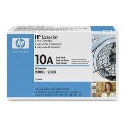 Тонер-картридж для HP LaserJet 2300, 2300D, 2300N, 2300DN, 2300DTN (Q2610D №10А) (черный) (2 шт) - Картридж для принтера, МФУКартриджи<br>Совместим с моделями: HP LaserJet 2300, HP LaserJet 2300D, HP LaserJet 2300N, HP LaserJet 2300DN, HP LaserJet 2300DTN.