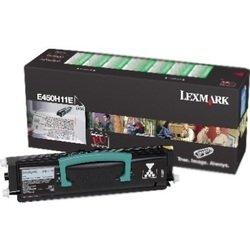 Тонер-картридж для Lexmark Е450 (E450H11E) (черный) - Картридж для принтера, МФУКартриджи<br>Совместим с моделью: Lexmark Е450.