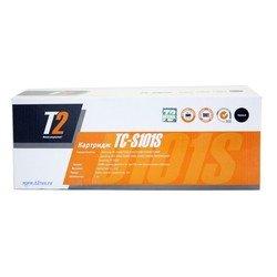 Тонер-картридж для Samsung ML-2160, ML-2165, ML-2167, ML-2168, ML-2165W, SCX-3400 (T2 TC-S101S) (черный, с чипом)  - Картридж для принтера, МФУКартриджи<br>Совместим с моделями: Samsung ML-2160, Samsung ML-2165, Samsung ML-2167, Samsung ML-2168, Samsung ML-2165W, Samsung SCX-3400.