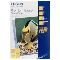 Фотобумага глянцевая 13 x 18 см (50 листов) (Epson C13S041875)  - БумагаОбычная, фотобумага, термобумага для принтеров<br>Фотобумага предназначена для печати цифровых фотографий с максимальным разрешением.