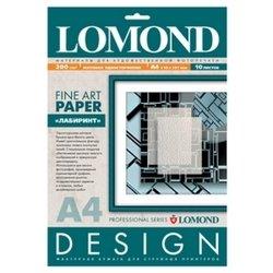 Фотобумага матовая A4 (10 листов) (Lomond 923041)  - БумагаОбычная, фотобумага, термобумага для принтеров<br>Предназначена для печати цифровых фотографий с максимальным разрешением.