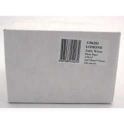 Фотобумага сатиновая A6 (500 листов) (Lomond 1106202)  - БумагаОбычная, фотобумага, термобумага для принтеров<br>Предназначена для печати цифровых фотографий с максимальным разрешением.
