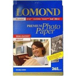 Фотобумага полуглянцевая A4 (20 листов) (Lomond 1106301)  - БумагаОбычная, фотобумага, термобумага для принтеров<br>Предназначена для печати цифровых фотографий с максимальным разрешением.