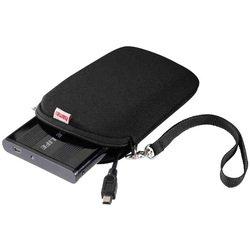Чехол для внешнего жесткого диска USB HDD 2.5 (HAMA H-95505) (черный) - Чехол для внешнего жесткого дискаЧехлы для внешних жестких дисков<br>Немецкая фирма HAMA разработала серию чехлов для жестких дисков размером 2.5 дюйма. Данный чехол имеет мягкий внутренний уплотнитель, благодаря которому Ваш HDD не только сохранит новый и опрятный вид, но также будет в безопасности во время ударов и падений. Кроме того, в чехле имеется специальный отсек для размещения USB-кабеля.