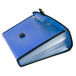 Портфель Бюрократ BPP6L (синий) - Папка, портфель с отделениямиПапки и портфели с отделениями<br>Портфель Бюрократ BPP6L имеет 6 отделений с окантовкой, формат А4, пластик 0.7мм