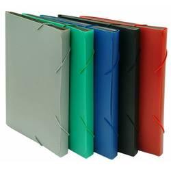 Папка на резинке Бюрократ BPR6 (красный) - Папка, портфель с отделениямиПапки и портфели с отделениями<br>Папка на резинке Бюрократ BPR6 имеет 6 отделений, формат А4, пластик 0.7мм