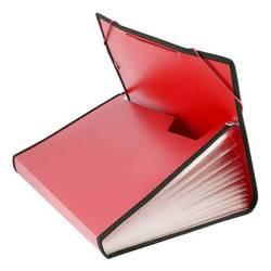 Папка на резинке Бюрократ BPR13L (красный) - Папка, портфель с отделениямиПапки и портфели с отделениями<br>Папка на резинке Бюрократ BPR13L имеет 13 отделений с окантовкой, формат А4, пластик 0.7мм