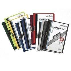 Папка-клип Durable Duraclip 60 (черная) - Папка с клипомПапки с клипом<br>Папка-клип Durable Duraclip 60 с верхним прозрачным листом, 1-60 листов