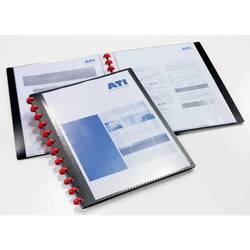 Папка Durable Duralook Easy Plus (черная) - Папка с прозрачными вкладышамиПапки с прозрачными вкладышами<br>Папка Durable Duralook Easy Plus с 20 прозрачными cъемными вкладышами и лицевым карманом