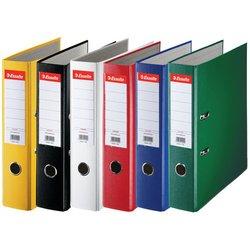 Папка-регистратор Esselte Economy (зеленая) - Папка-регистраторПапки-регистраторы<br>Папка-регистратор Esselte Economy формата А4, 75 мм