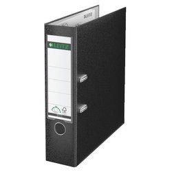 Пластиковая папка-регистратор A4, 80 мм (Leitz 10101295P) (черный) - Папка-регистраторПапки-регистраторы<br>Папка-регистратор незаменима для удобного хранения, использования и транспортировки документов и материалов, идеально подходит для ежедневного использования.